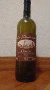 Chianti La Pievaccia 2000
